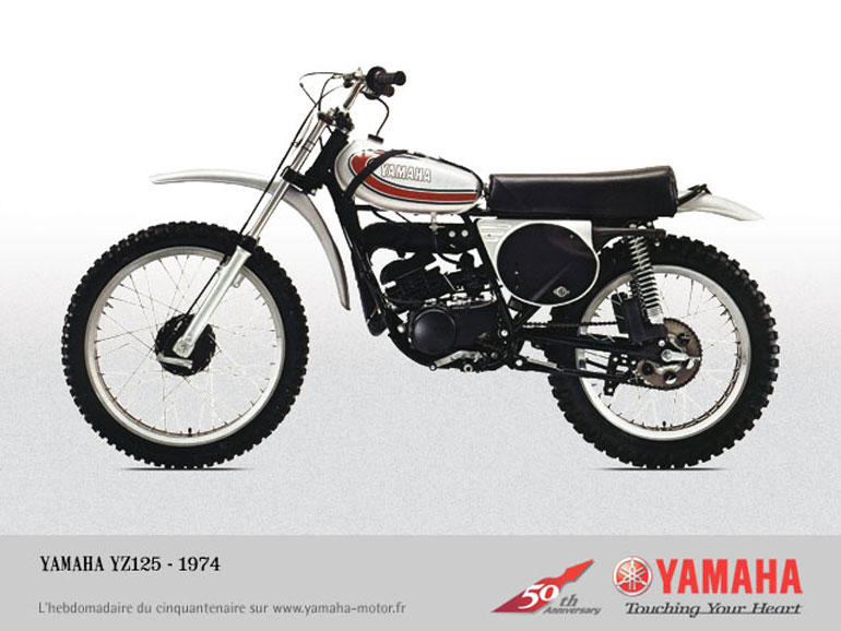 yamaha motorcycle history pictures  Motorcycle History: Yamaha YZ125 – The First Water-Cooled MX Bike