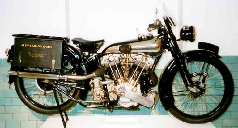 1925 Brough Superior SS100