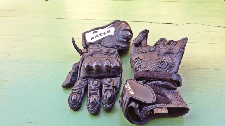 Racer R-Safe Motorcycle Gloves